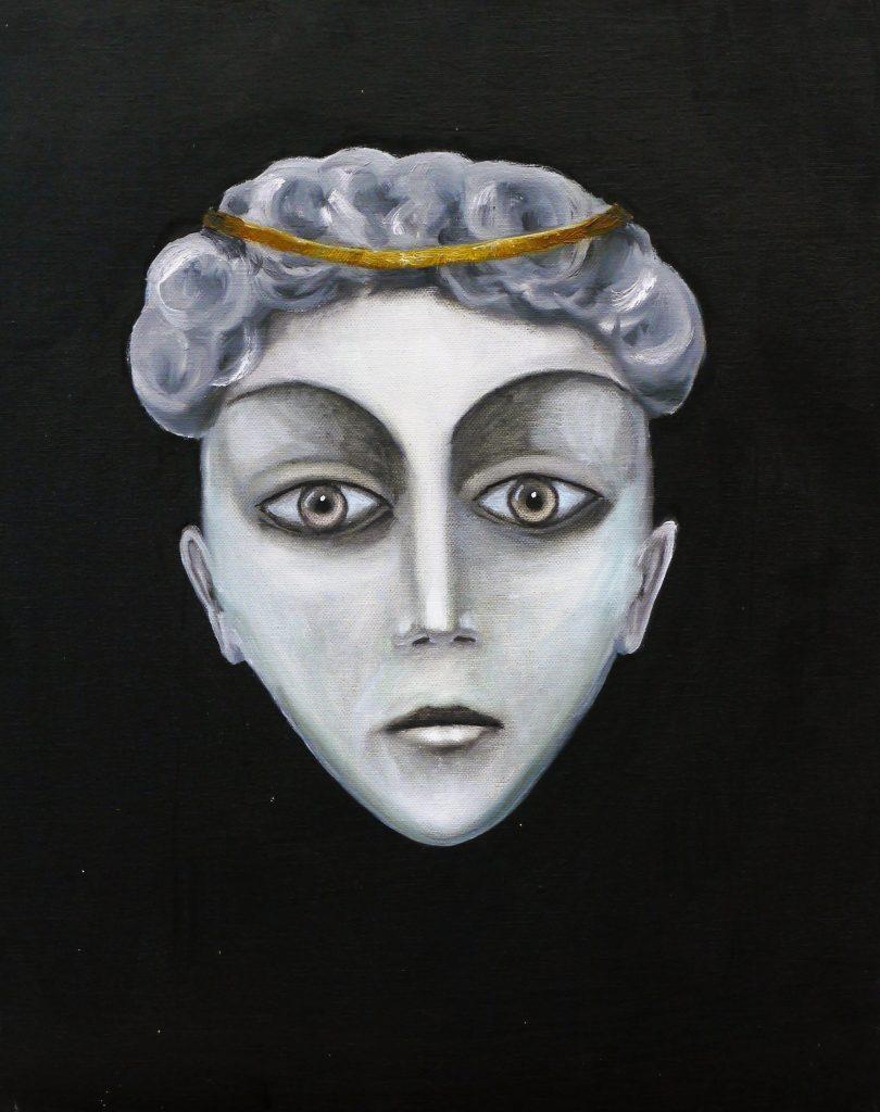 :lbild mit Frauenkopf